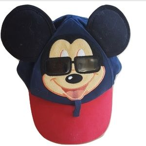 Disney Parks Mickey Mouse Baseball Cap Hat Toddler